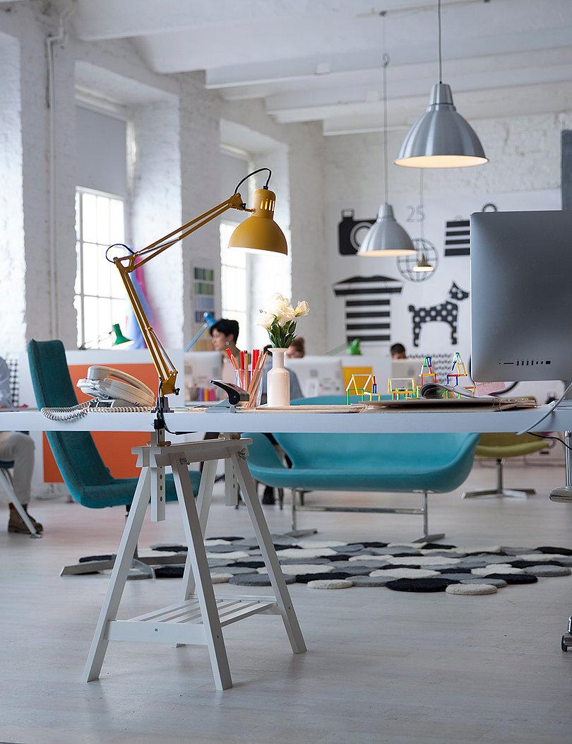 Deco creative accueil for Metier designer interieur